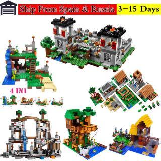 Lego Minecraft series Big building block children educational development model toy children gift