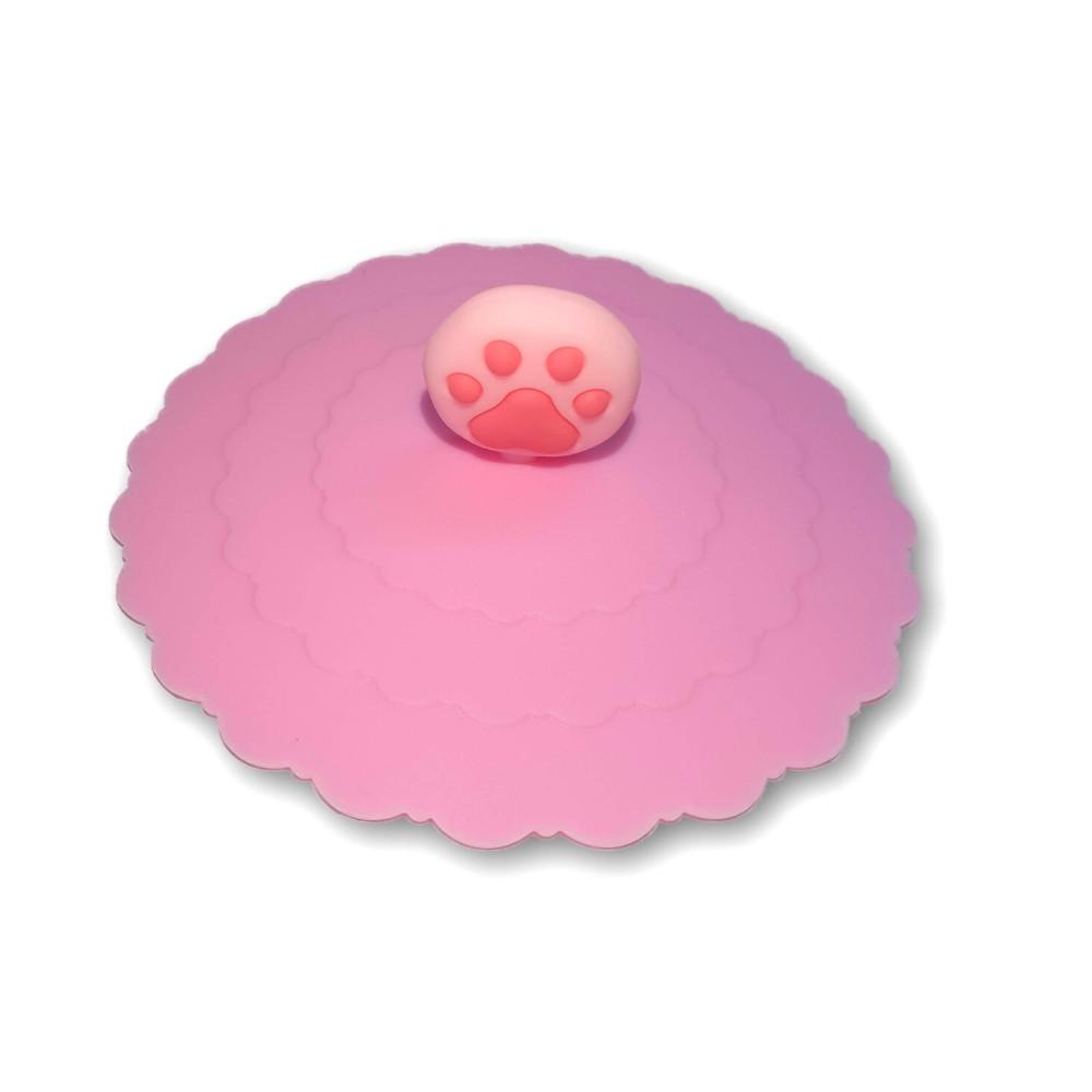 Nắp đậy ly silicon họa tiết động vật đáng yêu