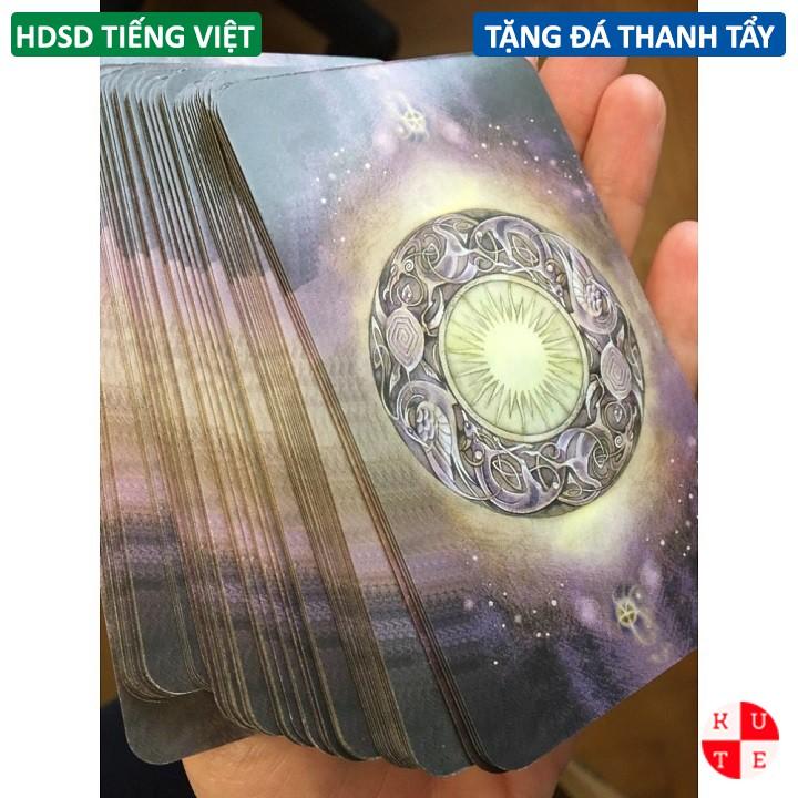 Bộ Bài Bói Tarot ShadowScapes Bản Chuẩn Tặng Hướng Dẫn Tiếng Việt Và Đá Thanh Tẩy