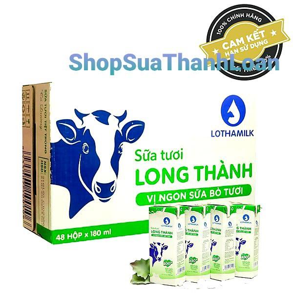 Sữa tiệt trùng Lothamilk 110ml - Thùng 48 hộp