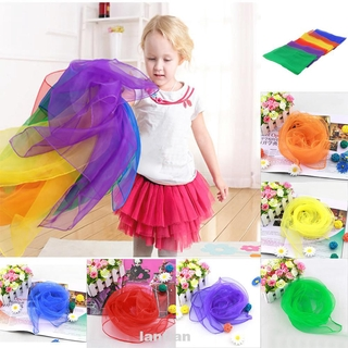 12pcs/set Juggling Stage Performance Entertainment Outdoor Game Dance Home Decorative Square Scarf