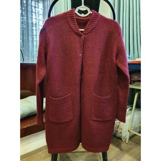 Áo khoác len dáng dài