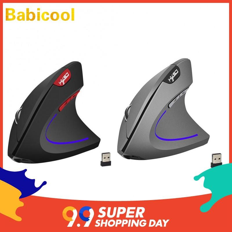 HXSJ-T22 Wireless 2.4G Gaming Mouse Ergonomic Vertical 2400DPI Optical Mice - 13890974 , 2645622801 , 322_2645622801 , 298400 , HXSJ-T22-Wireless-2.4G-Gaming-Mouse-Ergonomic-Vertical-2400DPI-Optical-Mice-322_2645622801 , shopee.vn , HXSJ-T22 Wireless 2.4G Gaming Mouse Ergonomic Vertical 2400DPI Optical Mice