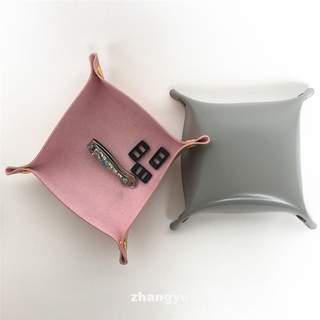 Desktop Foldable Jewelry Organize Nordic Style Storage Tray