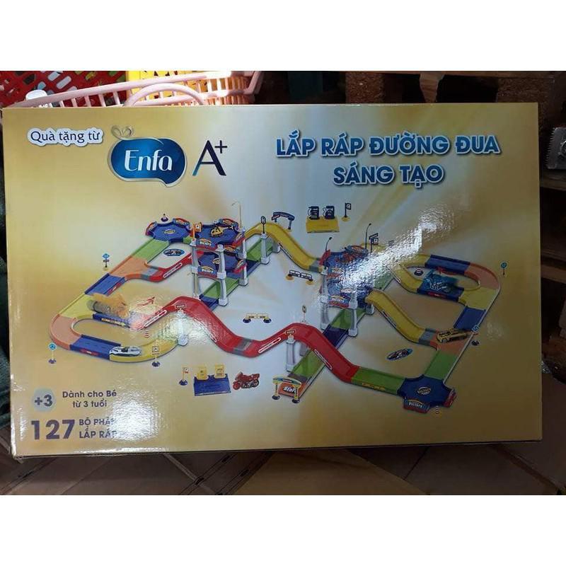 [Hỗ trợ giá] Đồ chơi lắp ráp đường đua sáng tạo Enfa 127_Hàng chất lượng cao