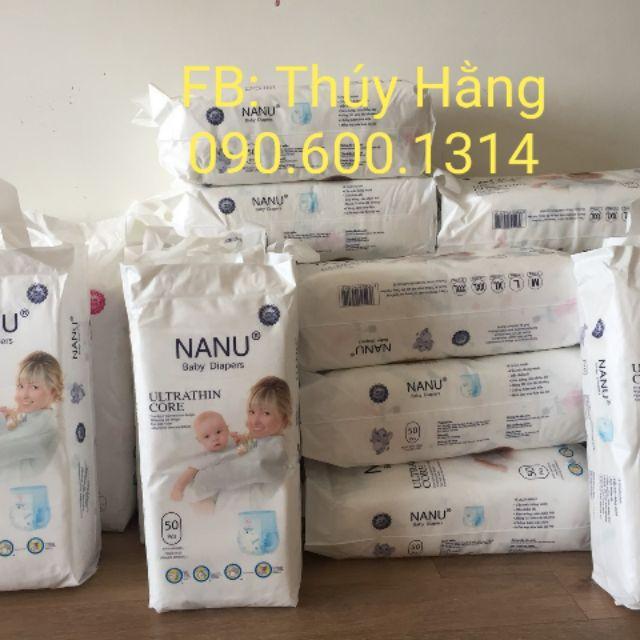 Bỉm quần Nanu baby zise M50/L50/XL50/XXL50