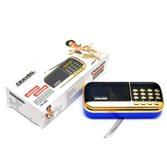 Loa nghe nhạc USB thẻ nhớ FM Craven CR-836 (loại 1) - 3566792 , 1209925731 , 322_1209925731 , 180000 , Loa-nghe-nhac-USB-the-nho-FM-Craven-CR-836-loai-1-322_1209925731 , shopee.vn , Loa nghe nhạc USB thẻ nhớ FM Craven CR-836 (loại 1)