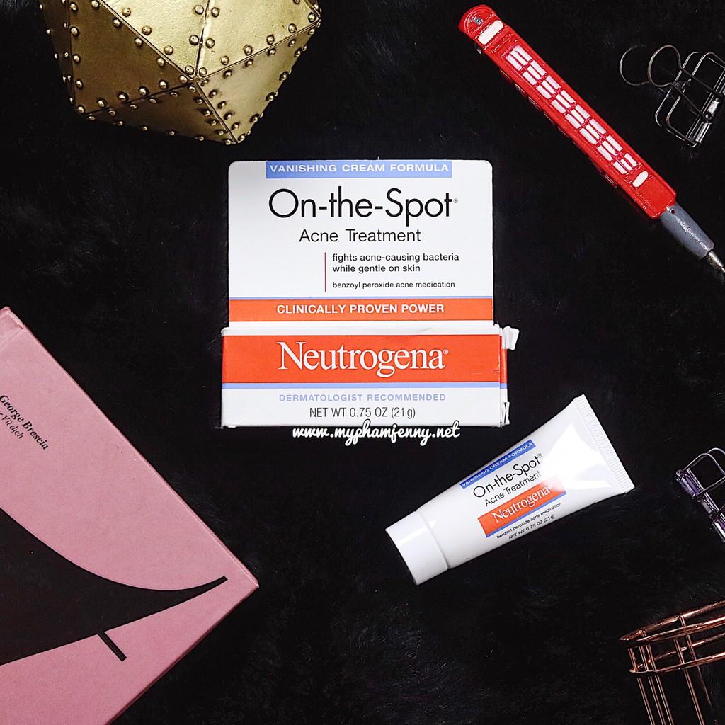 Kem Trị Mụn Và Ngăn Ngừa Mụn Neutrogena On-the-Spot Acne Treatment