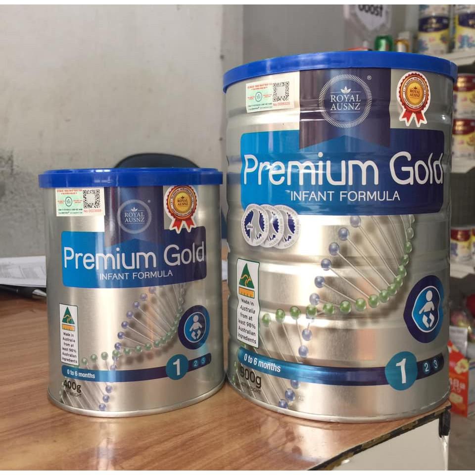 Sữa Hoàng gia Úc Royal Ausnz Premium Gold 1 900g