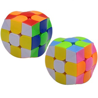 3×3 Colorful Magic Speed Cube Special Shaped Puzzle Cube Toys as Gifts Kids