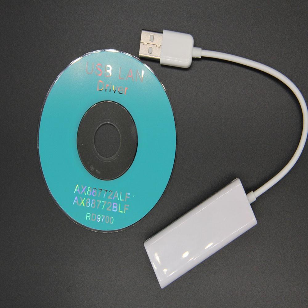 ( giảm mạnh ) Bộ chuyển đổi USB 2.0 sang RJ45 LAN Network 100Mbps cho Tablet PC Win7 8