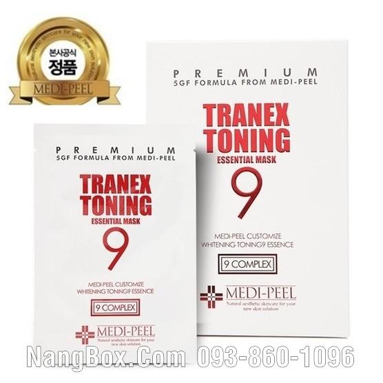 Mặt Nạ Trắng Da Trị Thâm Nám Medi Peel Tranex Toning 9 Essential Mask - 2673246 , 1144212996 , 322_1144212996 , 35000 , Mat-Na-Trang-Da-Tri-Tham-Nam-Medi-Peel-Tranex-Toning-9-Essential-Mask-322_1144212996 , shopee.vn , Mặt Nạ Trắng Da Trị Thâm Nám Medi Peel Tranex Toning 9 Essential Mask