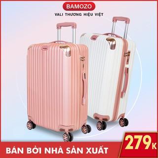 """vali du lịch BAMOZO 8801/8809 vali kéo nhựa size 20 inch size 24 inch giá chỉ còn <strong class=""""price"""">29.900.000.000đ</strong>"""
