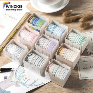Yêu ThíchWinzige 10 cuộn băng dính đáng yêu hỗ trợ trang trí DIY