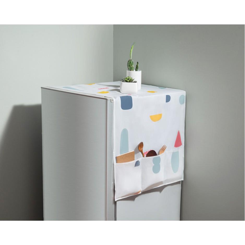 Tấm phủ che bụi tủ lạnh - 2854073 , 787066724 , 322_787066724 , 38000 , Tam-phu-che-bui-tu-lanh-322_787066724 , shopee.vn , Tấm phủ che bụi tủ lạnh