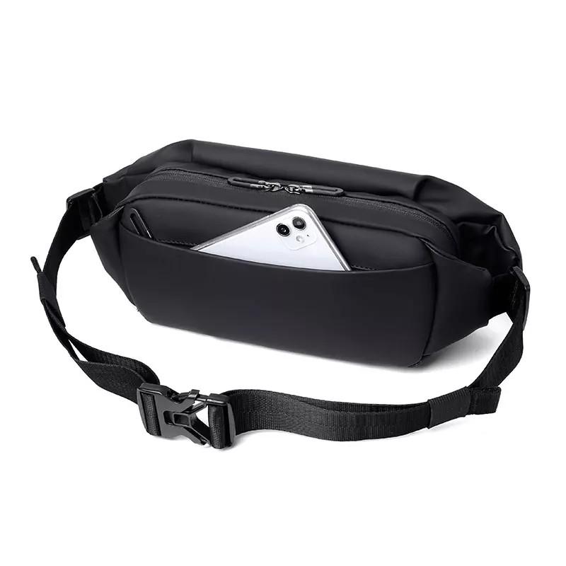 Túi đeo chéo nam nữ Weixier kiểu dáng nhỏ gọn thể thao, chất liệu chống thấm nước, khóa kéo chống móc túi