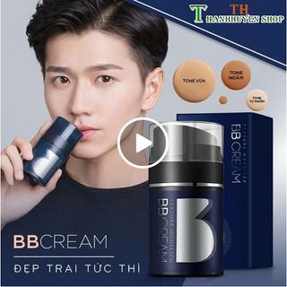 (Xả Kho) BB Cream Kem Che Khuyết Điểm Mọi Loại Da Cho Nam Dưỡng Ấm Đa Năng 4in1