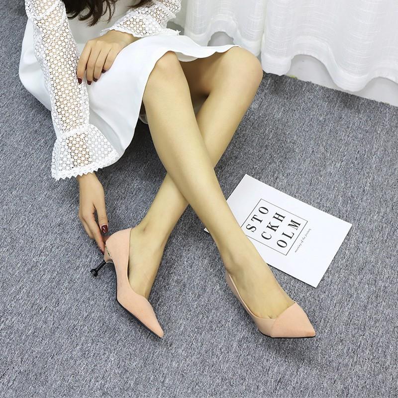 Giày Cao Gót Mũi Nhọn Thời Trang Cho Nữ