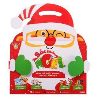 Bộ đồ chơi sắc màu Noel Kibu (Thiết kế đáng yêu, mô hình 3D độc đáo)