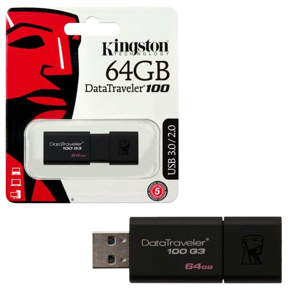 USB Kingston DT100G3 64GB /3.0 (chính hãng)
