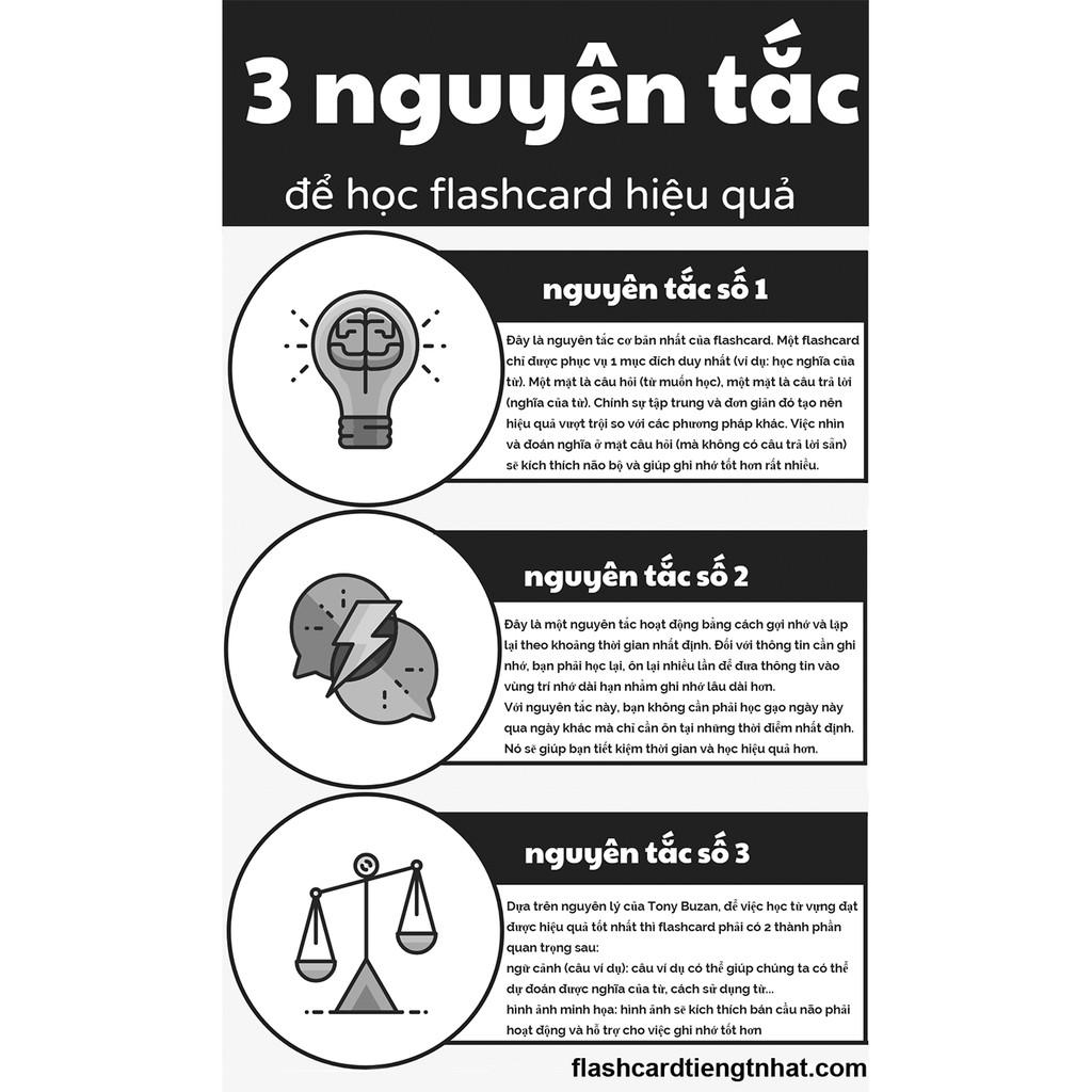 Bộ thẻ học thông minh - Flash card - 16 chủ đề-416 thẻ học - Song ngữ Anh-Việt (có phiê