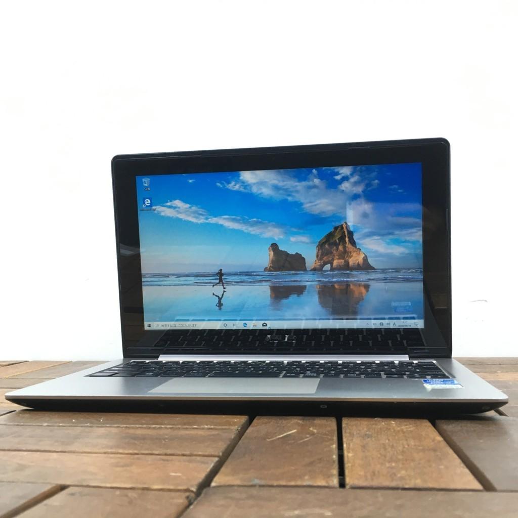 Laptop màn hình cảm ứng 11.6 inch ASUS Vivobook X202E core i3 4GB RAM 256GB SSD - Likenew 98%