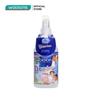 Chai Xịt Khử Mùi Bioion Deo-Sanitizer Làm Sạch Khuẩn Hương Floral 500ml thumbnail