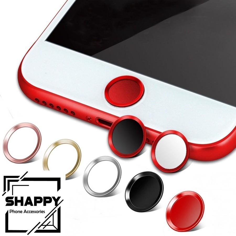 Miếng Dán Trang Trí Đổi Màu Nút Home Dành Cho Iphone [Shappy Shop]