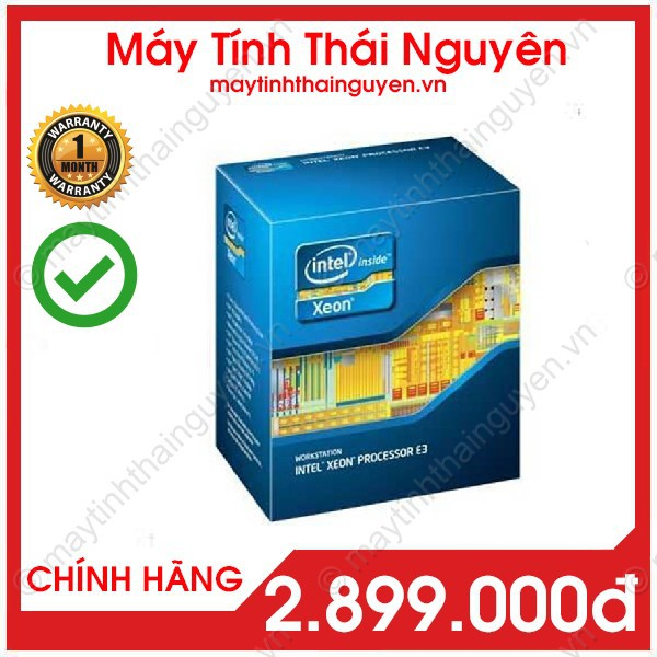 CPU Xeon E3 1280 V2 (4.0 GHz, 8MB Cache) 4 nhân 8 luồng – Xeon 1280 v2 , mạnh hơn nhiều I7 3770 (Qua sử dụng) Giá chỉ 2.696.070₫
