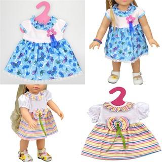 NBY❤❤Fashion Handmade Doll Dress Clothes fit 43cm Baby Born Zapf America