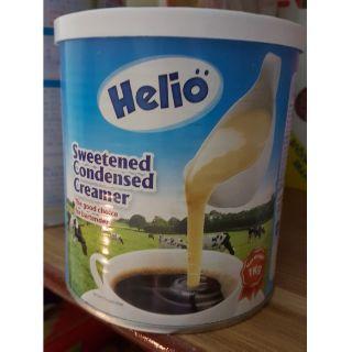 sữa đặc helio hsd 1/6/2021 1kg pha trà sữa, cà phê