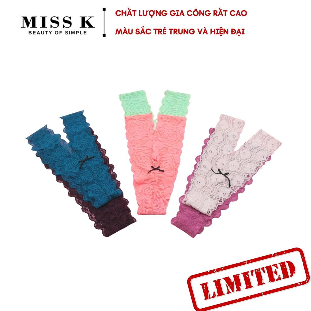 Quần lót ren lọt khe form Y Chic Girl thương hiệu MK gợi cảm nhiều màu U029