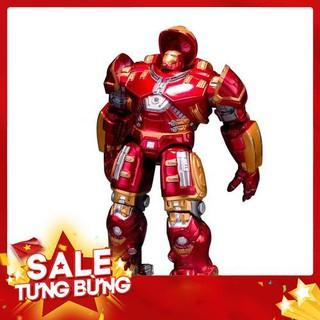 [Nhập mã TOYMAY15 giảm 15K] Mô Hình Iron Man Hulkbuster Cử Động Có Đèn Mark 44 Cao 18cm – HOT