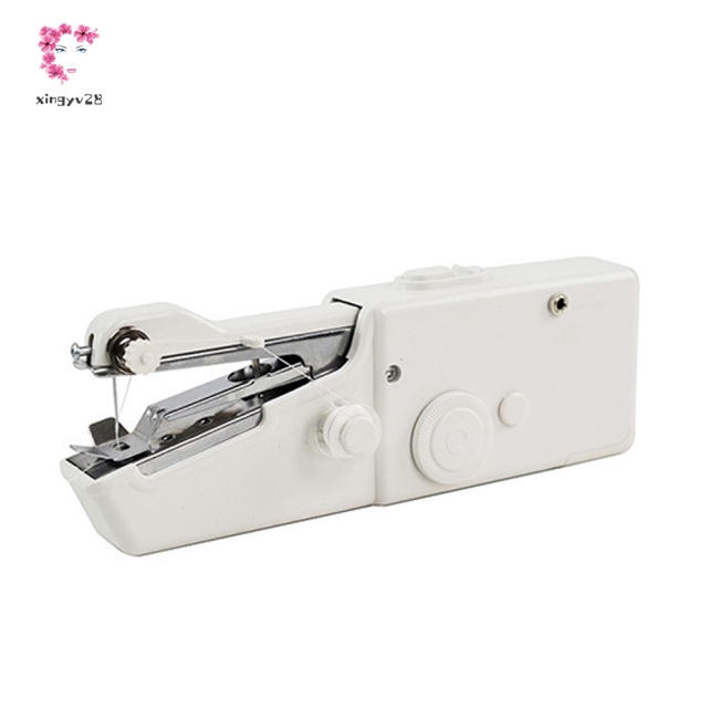 Portable Handheld Mini Electric Sewing Machine for Needlework Clothes Fabrics
