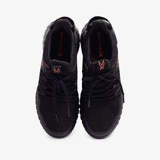 Hình ảnh [Mã WABRBS1 giảm 10% đơn 500K] Giày Thể Thao Nam Bitis Hunter X 2k19 - Jet Black DSMH02200DEN (Đen)-3
