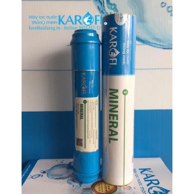 Lõi lọc KAROFI Số 5 Khoáng Đá tự nhiên Mineral. Bổ Xung lại Khoáng Chất cần thiết