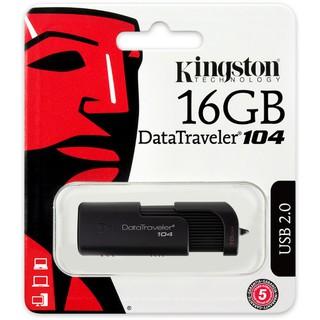 [Mã ELFLASH5 giảm 20K đơn 50K] USB 16GB 2.0 KingSton DT 104 chính hãng FPT GIÁ TỐT
