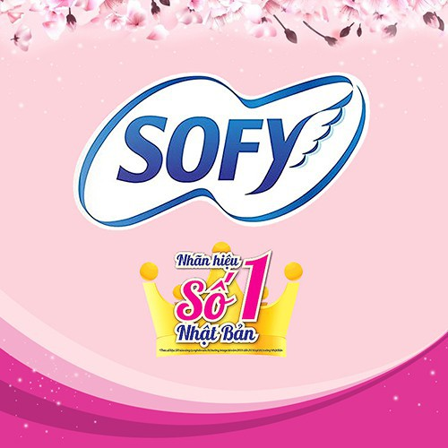Băng vệ sinh siêu mềm mỏng Sofy Skin Comfort Ultra Thin 29cm có cánh gói 15 miếng