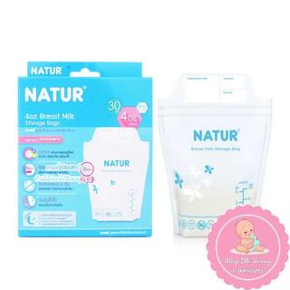 Túi Trữ Sữa Cho Bé Natur 120ML 240ML Hộp 30 Túi