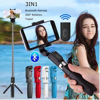 Sale 69% Gậy chụp ảnh selfie mini kết nối bluetooth điều khiển từ xa cho iPhone Android, Red Giá gốc 210000đ- 114B16-2
