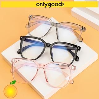 🎉ONLY🎉 Unisex Blue Light Blocking Glasses Radiation Protection Flat Mirror Eyewear Computer Goggles Vision Care Flexible Ultralight Fashion Eyeglasses/Multicolor