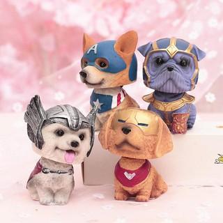 Mô Hình Chó Siêu Anh Hùng Avenger
