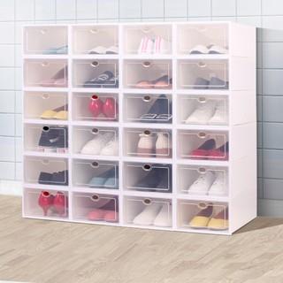 [❌GIÁ SỈ❌] Hộp Đựng Giày Dép Nắp Nhựa Cứng Mica Trong Suốt, Size lớn Chịu Lực 4kg 88190 Giang Phạm