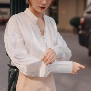 [Mã FASHIONXANH94 giảm 10K đơn 50K] Pure Shirt - Sơmi tay bồng thumbnail