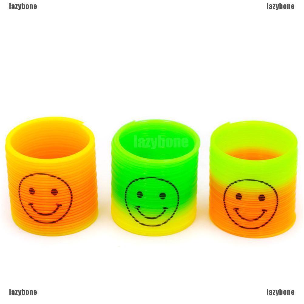 (m8387) vòng nhựa đồ chơi màu cầu vồng-ml8387