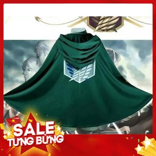 Japan Anime Shingeki No Kyojin Cloak Attack on Titan Cosplay Cloth – Siêu HOT