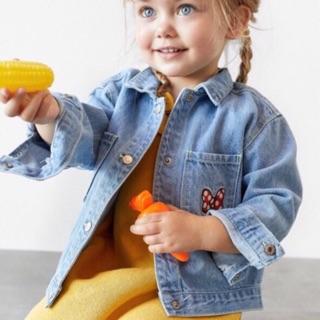 Áo khoác (áo bò) Jean Zara cho bé gái