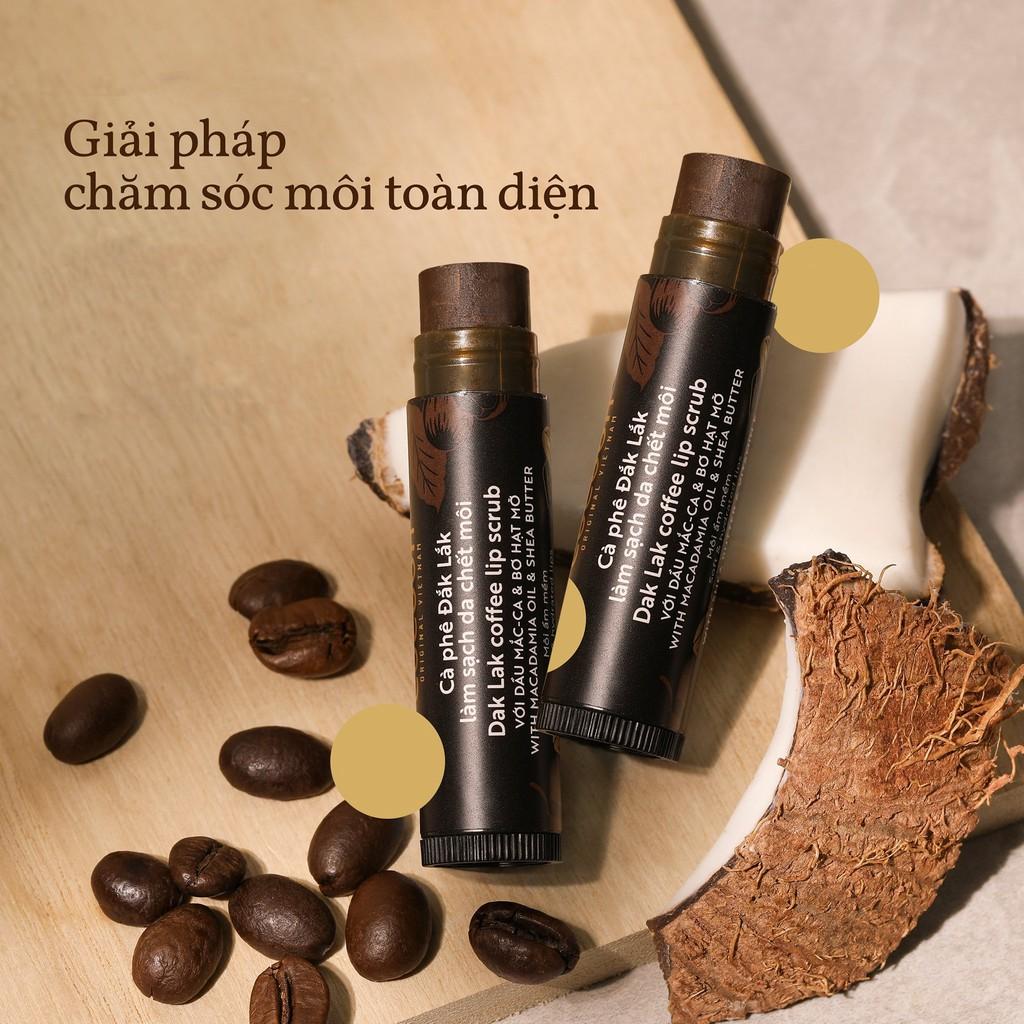 Cà phê đắk lắk làm sạch da chết môi cocoon 5g - tẩy da chết môi   Shopee  Việt Nam