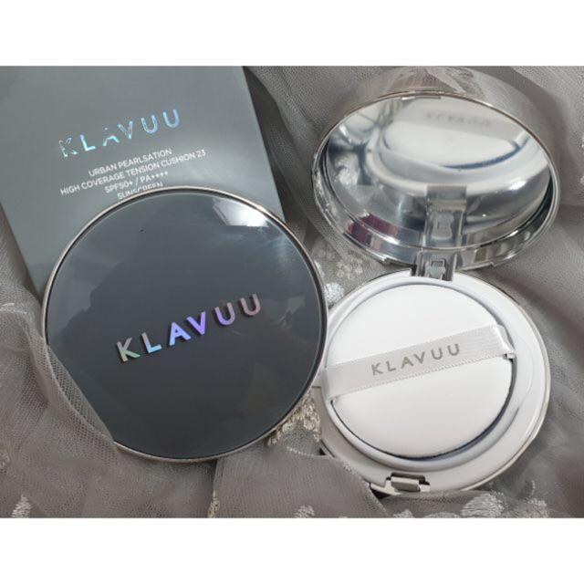 Kết quả hình ảnh cho KLAVUU High Coverage Tension Cushion 15g #21