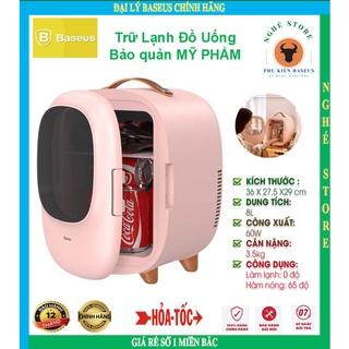 Tủ lạnh Mini Baseus 8 Lít 2 Chiều Lạnh & Nóng Chính Hãng